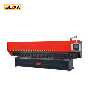 Vertical V Metal Sheet Roll Groover Grooving Machine