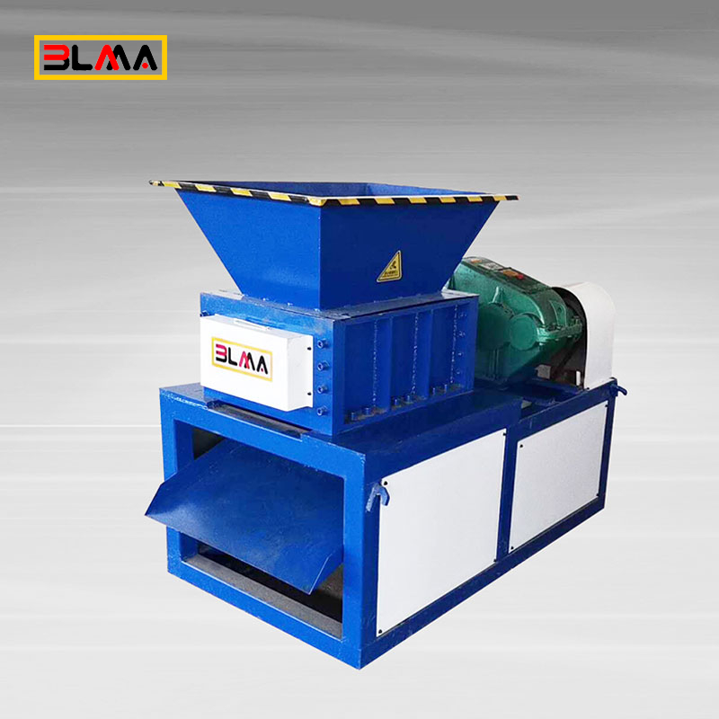 Plastic Bottle Can Waste Recycle Crusher Shredder