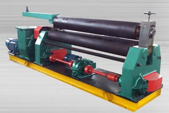 The Operation of Steel Plate Rolling Machine