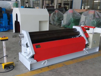 The Types of Steel Plate Rolling Machine